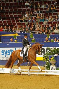 Das Finale der Meggle Champions 2010 in der Westfalenhalle Dortmund Ulla Salzgeber auf Wakana