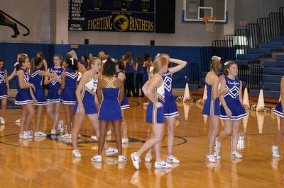 Panther Cheerleaders, 2003 - 2004