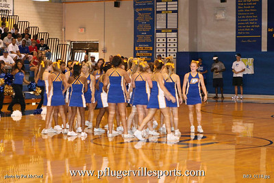 Panther Cheerleading, 2008 - 2009