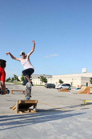 July Skate Comp at Pville