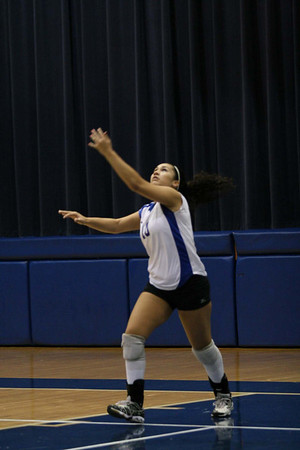 Pflugerville Panthers vs. Georgetown Eagles, Volleyball 2008