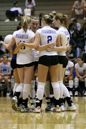 Pflugerville Panthers vs. Connally Cougars, Volleyball 2008