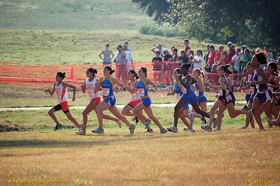 Pflugerville Panthers Cross Country, UTSA  meet
