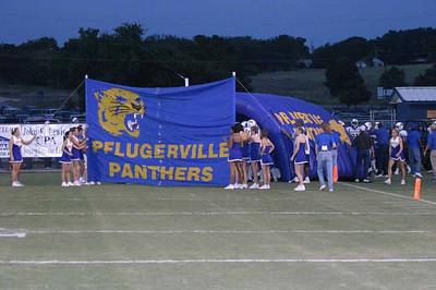 Pflugerville Panthers vs. Georgetown Eagles, October 1, 2004