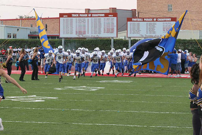 Pflugerville Panthers vs. Judson Rockets, September 19, 2005