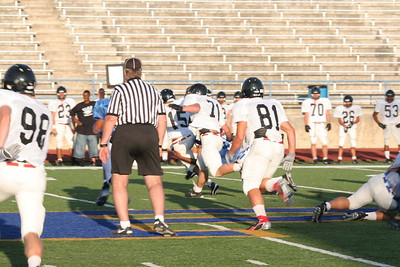 Pflugerville Panthers vs. Churchill Chargers, August 25, 2006