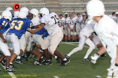 Pflugerville Panthers Freshmen vs. Round Rock Dragons, November 8, 2007