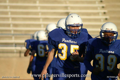 Panther Freshmen vs. Anderson Trojans,  October 9, 2008