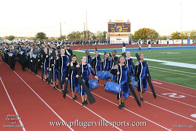 Pflugerville Panthers vs. Akins Eagles, October 24, 2008