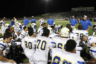 Pflugerville Panthers vs. Hendrickson Hawks, Oct 19, 2012