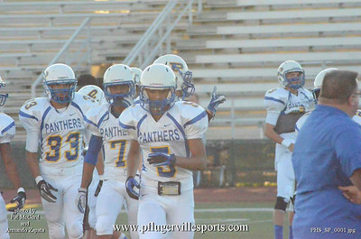 Pflugerville Panthers vs Stony Point Tigers, Nov 2,2012