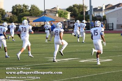 Pflugerville Panthers vs Leander Lions 150904