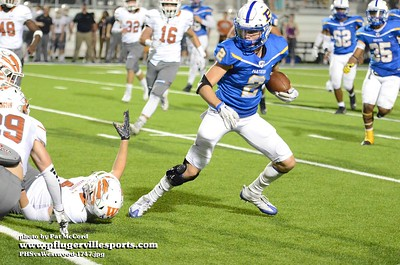 171103 Pflugerville Panthers vs Westwood Warriors