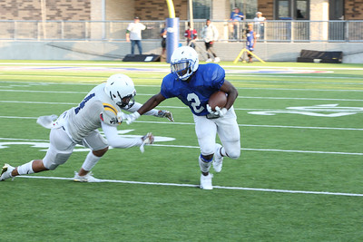 180824 Pflugerville Panther vs Stony Point Tigers Scrimmage