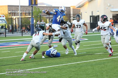 180831 Pflugerville Panthers vs Bowie Bulldogs