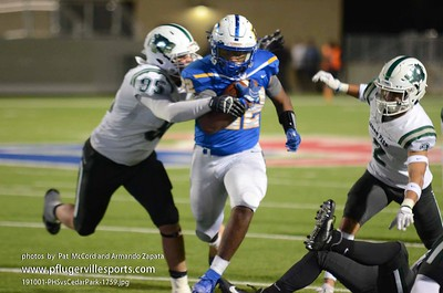 191101 Pflugerville Panthers vs Cedar Park Timberwolves