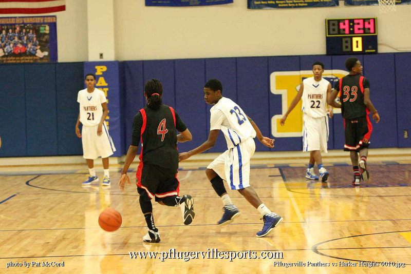 Pflugerville Panthers vs Harker Heights 0010