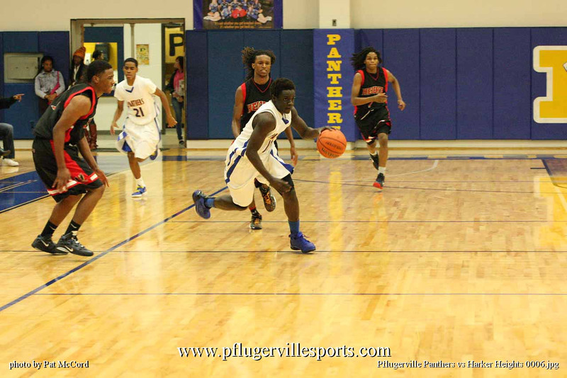 Pflugerville Panthers vs Harker Heights 0006