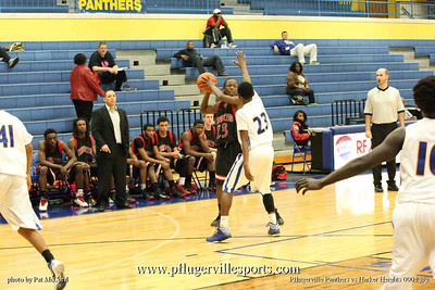 Pflugervlle Panthers Boys Basketball vs Harker Heights,Dec 11, 2012