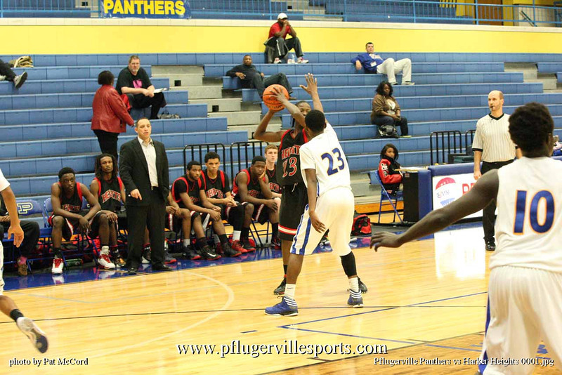 Pflugerville Panthers vs Harker Heights 0001