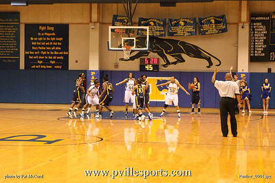 Panther Girls vs Stony Point