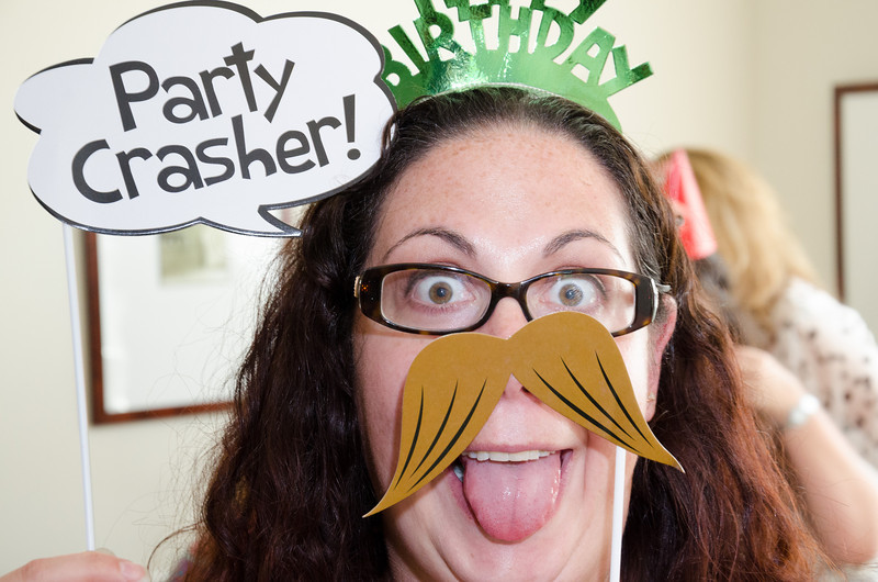 No... I am the PARTY CRASHER!!!