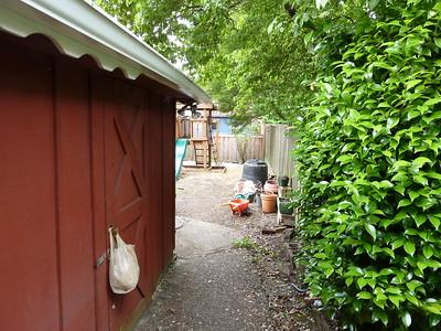 towards garden/play area