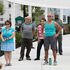 Phase one of the Mechanic Street Park is done and a ceremony to official open the park was held on Wednesday morning, July 17, 2019. Many listen to the speakers at the ceremony. SENTINEL & ENTERPRISE/JOHN LOVE