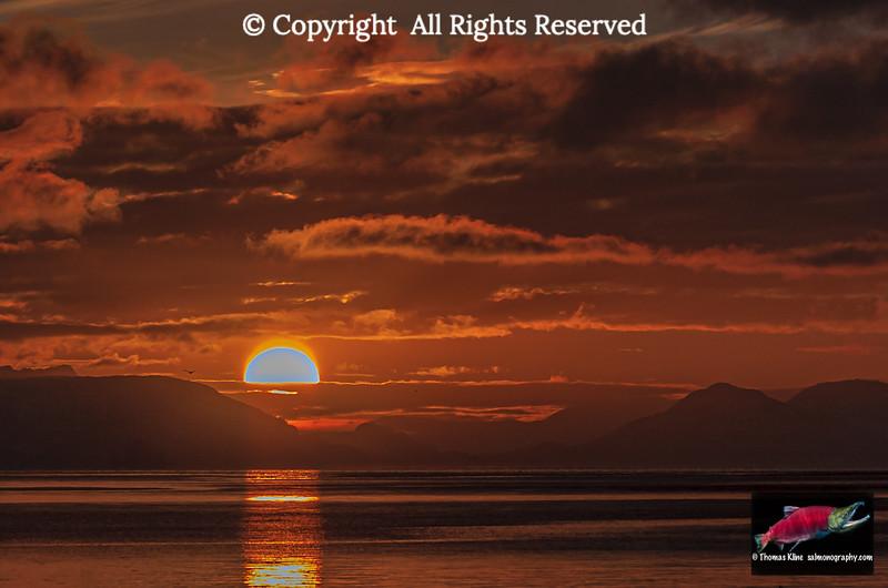 Sunset on Prince William Sound