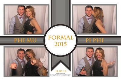 Phi Mu/Pi Phi Formal 2015 Part II