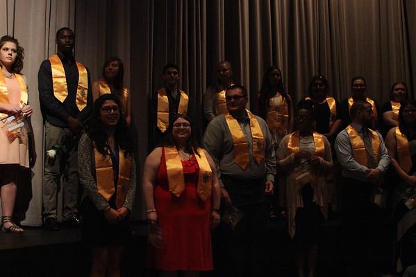 Phi Theta Kappa Induction Ceremony 2016