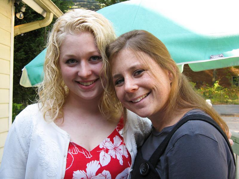 Phia with Sarah, 2007