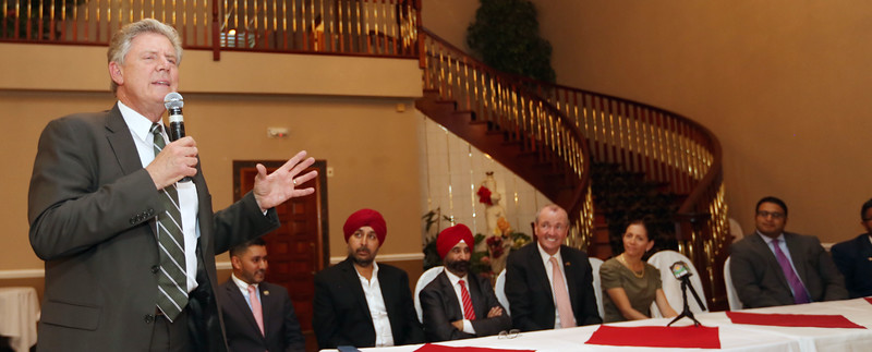 Congressman Frank Pallone spk speaking at the fund raiser...pic Mohammed jaffer Snapsindia