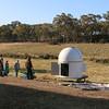 Observatory Construction. Photo by Ben Johnston.