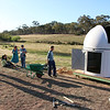 Observatory Construction. Photo by Ben Johnston.