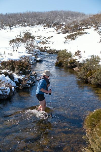 Doubtful River crossing