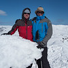 Tim and Phil at Mt Tate