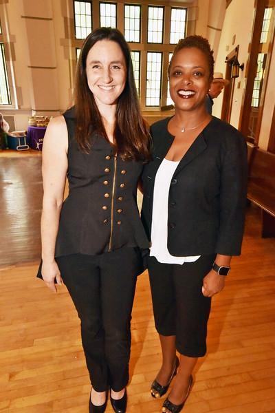 Shana Kennedy and Councilwomen Cindy Bass