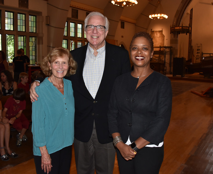 Carol Caswell, Executive Vice President West Mt Airy, Bruce Caswell and Councilwomen Cindy Bass