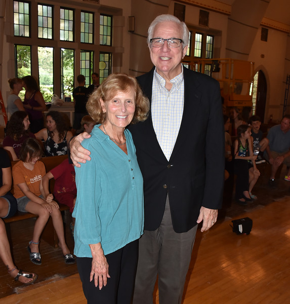 Carol Caswell, Executive Vice President West Mt Airy, and Bruce Caswell