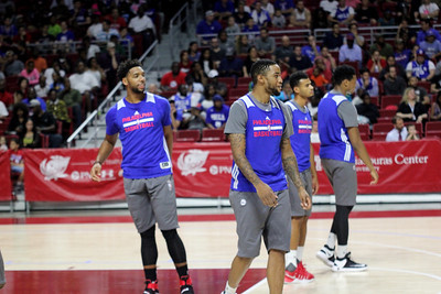 Independence Blue Cross & Philadelphia 76ers  Host Open Practice at Liacouras Center