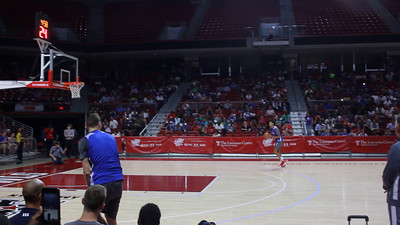 3 Videos of  the Philadelphia 76ers Open Practice at the Liacouras Center
