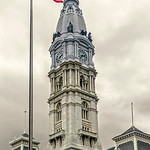 City Hall, Raised Flag