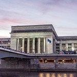 30th Street Train Station, River View, Dusk