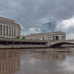 Rain Clouds, Schuylkill River, 30th Street