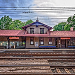 Overbrook Train Station