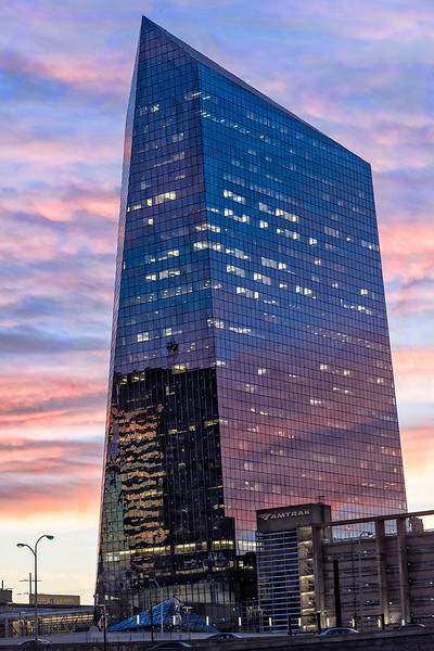 Cira Centre at Dusk