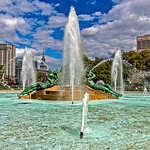 Logan Circle Fountain, Facing East