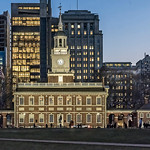 Independence Hall at Dusk