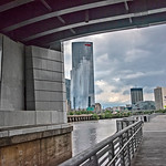 Schuylkill River Trail, FMC Tower, South Street Bridge